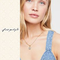 Free People★フリーピープル★24k Pavia Coin ネックレス ★