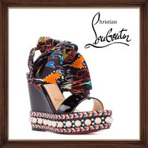 ★Christian Louboutin 《LEVANTINANA WEDGE SANDALS 》送料込★
