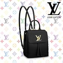 Louis Vuitton(ルイヴィトン) マザーズバッグ 18SS《Louis Vuitton》☆Mini sac a dos Lockme  リュック
