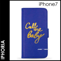 新作★追跡&関税込【IPHORIA】iPhone7/Call Me
