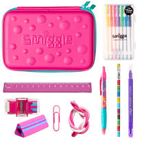 smiggle スミグル 筆箱と文房具 ギフトセット ピンク 送料込