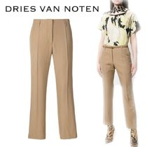【18SS】大注目!!★Dries Van Noten★creased cropped trousers