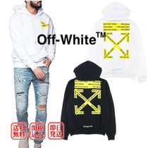OFF-WHITEが魅せる☆FIRETAPE ARROW HOODIE☆TEMPERATURE