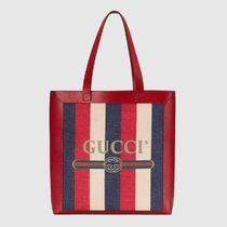 18SS◆GUCCI マザーズバッグ Gucci Print large tote