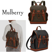 18SS新作◇送関込【Mulberry】Heritage Scotchgrainバックパック