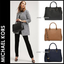 新作★3-7日着/追跡付【即発・MICHAEL KORS】L/SAVANNAH SATCHEL