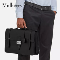 18SS新作◇送関込【Mulberry】Rushley Briefcase ビジネスバッグ