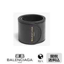 【関税送料込】*BALENCIAGA* Cycle leather bracelet