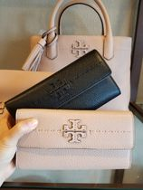 【即発3-5日着】TORY BURCH◆McGRAW SLIM WALLET◆長財布◆45172