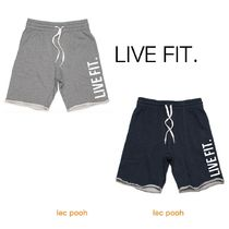 ◆LIVEFIT◆French Terry Live Fit short ハーフパンツ