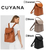 【CUYANA】最新●日本未入荷●Large Leather Backpack