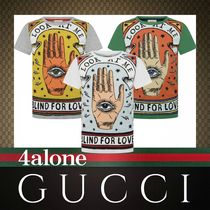 GUCCI☆大人もOK☆BLIND FOR LOVEプリントTシャツ