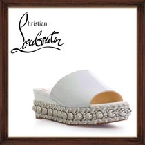 ★Christian Louboutin 《DOME STUDDED MULE SANDALS 》送料込★