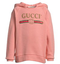 ★GUCCI★ヴィンテージロゴパーカー Pink 大人OKsize【関税込】