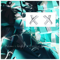 【Tiffany & Co】Paloma Picasso X Earrings Mini in silver