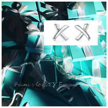 【Tiffany & Co】Paloma Picasso X Earrings Small in silver