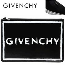 GIVENCHY正規品/超特急EMS送料込み グラフィティロゴクラッチBAG