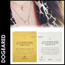 Dogeared(ドギャード) ネックレス・ペンダント ★追跡&関税込【Dogeared】ACCOMPLISH NECKLACE