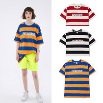 ACOVER(オコボ) Tシャツ・カットソー 【ACOVER】BOLD STRIPE 1/2 Tシャツ (3 color) - UNISEX