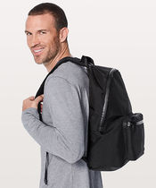 [lululemon]◆シンプル Mainstay Backpack (black)
