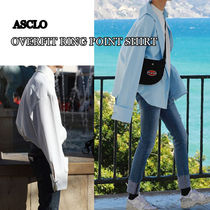 ASCLO★韓国の人気★OVERFIT RING POINT SHIRT