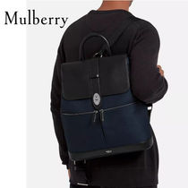 18SS新作◇送関込【Mulberry】Reston スムースカーフBackpack
