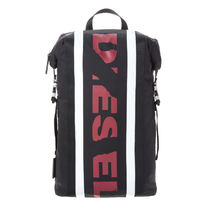 DIESEL バックパック X05316 P1620 H3212 Black-Tango Red/White