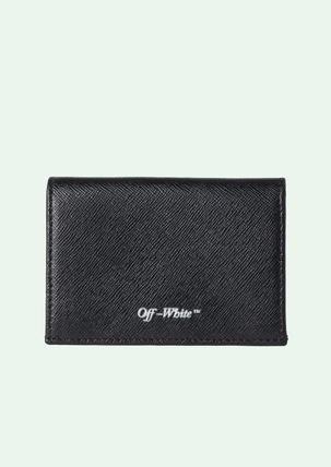 Off-White カードケース・名刺入れ 最新作OFF-WHITE 18SS SMALL FLAP WALLET