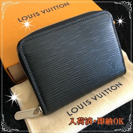 Louis Vuitton コインケース・小銭入れ 直営店買付【LOUIS VUITTON】ジッピーコインパース ノワール