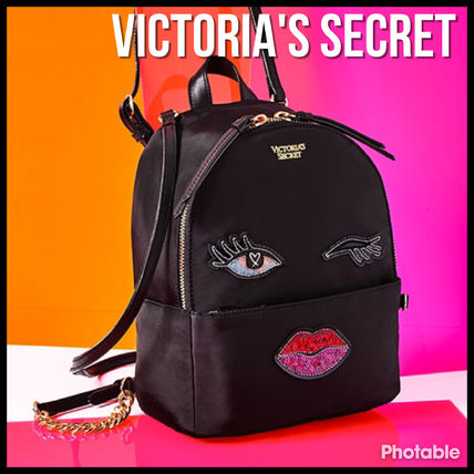 Victoria's Secret バックパック・リュック 超新作 Victoria's secret Runway Patch Small City Backpack VS