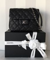 CHANEL 18SS A57047 キャビアスキンチェーンバッグ 国内発関税無