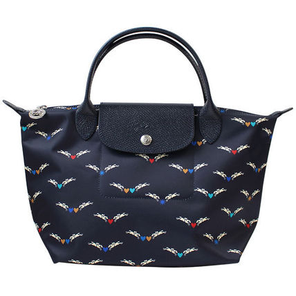 Longchamp ハンドバッグ ロンシャン ハンドバッグ Le Pliage Chevaux Ailes 1621 663 006