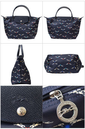 Longchamp ハンドバッグ ロンシャン ハンドバッグ Le Pliage Chevaux Ailes 1621 663 006(2)