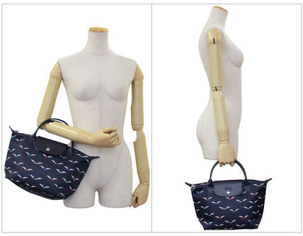 Longchamp ハンドバッグ ロンシャン ハンドバッグ Le Pliage Chevaux Ailes 1621 663 006(4)