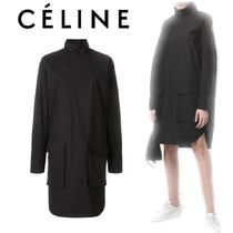 【18SS】大注目★CELINE★high neck shirt dress