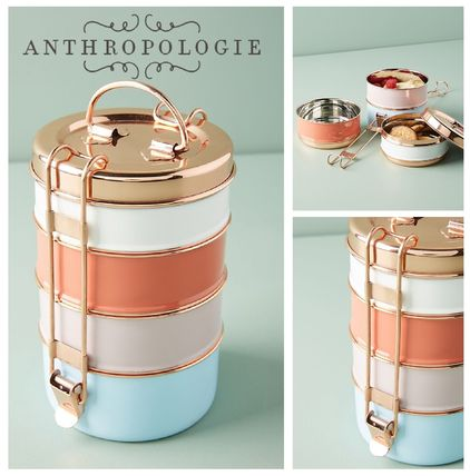 春☆ANTHROPOLOGIE☆Tiffin Tiered Storage Bowl Set☆税送込