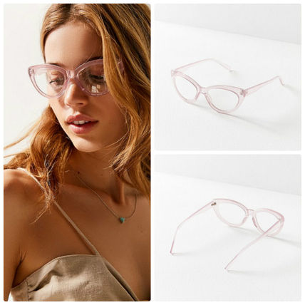 Urban Outfitters メガネ 追跡・補償あり【宅配便配送】Cat-Eye Readers