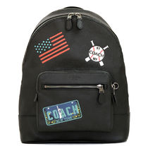 ☆COACH☆West BACKPACK with American Dreaming Patches
