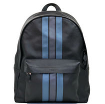 ☆COACH☆CHARLES BACKPACK WITH VARSITY STRIPE バックパック