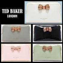 TED BAKER(テッドベーカー) メイクポーチ 【SALE】Ted Bakerテッドベーカー リボン付きメイクポーチ(大)