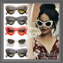 国内発送★zeroUV★Retro Bold Chunky Cat Eye Sunglasses A098