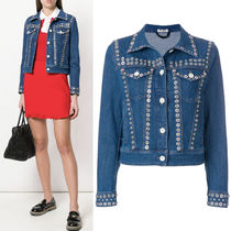 MM481 EMBELLISHED DENIM JACKET