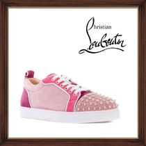 ★Christian Louboutin 《 JUNIOR SPIKE SNEAKERS 》送料込★