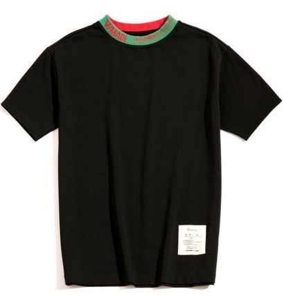 Tシャツ・カットソー 希少!!【V MADE】ロゴリブネックTEE【送関込】(2)