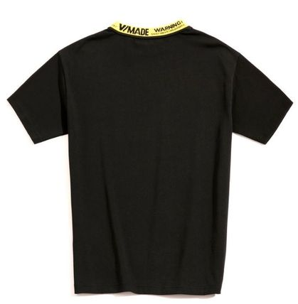 Tシャツ・カットソー 希少!!【V MADE】ロゴリブネックTEE【送関込】(10)