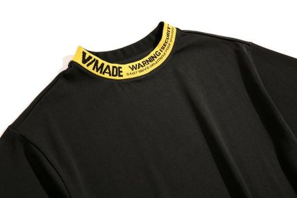 Tシャツ・カットソー 希少!!【V MADE】ロゴリブネックTEE【送関込】(11)