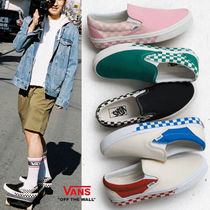 VANS☆NJOT Chckerboard SLIP-ON☆
