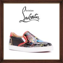 ★Christian Louboutin 《ILLUSTRATED SKATE SNEAKERS》送料込★