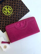 即発 TORY BURCH★Fleming Snake Zip Continental Wallet 34481
