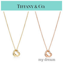 【Tiffany & Co】ミニ♪Elsa's Open Heart Pendant in 18k Glod